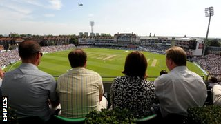 General view of the Oval