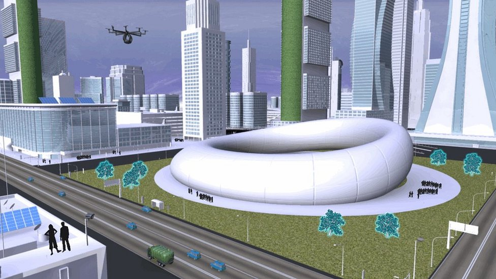 What will cities look like in the future? - CBBC Newsround