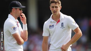 James Anderson and Chris Woakes