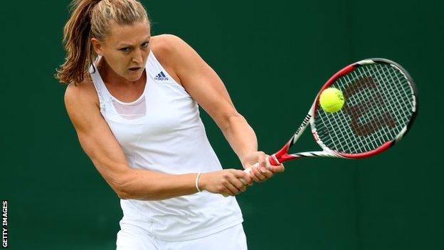 BBC Sport - US Open 2013: Samantha Murray and Dan Evans ...