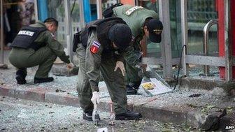 Bangkok blast 14 February