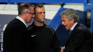 Paul Lambert and Jose Mourinho