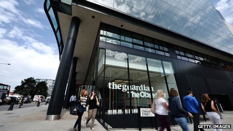 The Guardian's office building in London