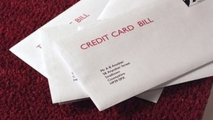 Credit card bill - generic