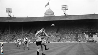 Hull v Wigan in 1959