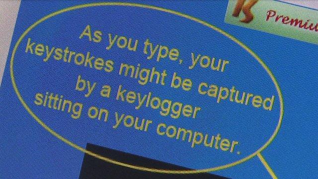 Keylogging prevention software