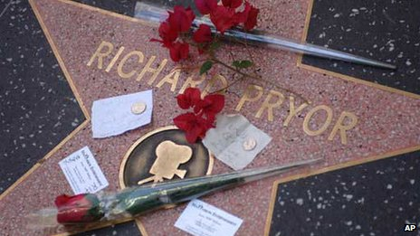 Richard Pryor's star on Hollywood's Walk of Fame