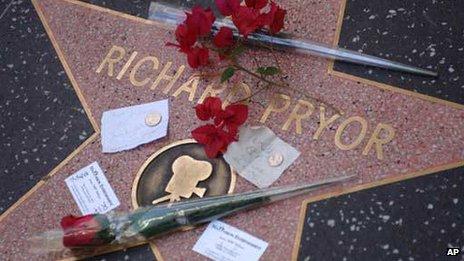 Richard Pryor's star on Hollywood's Walk of Fame