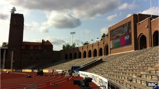 Diamond League in Stockholm