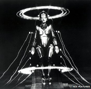 Female robot from Fritz Lang's 1927 film Metropolis