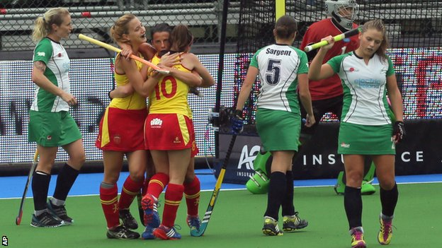 Spain beat Ireland 1-0 in Belgium