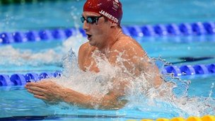 Scot Michael Jamieson will be one of the big attractions in the pool