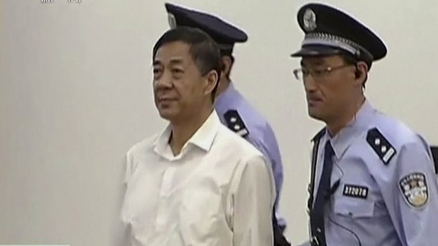 Bo Xilai has denied corruption and abuse of power charges