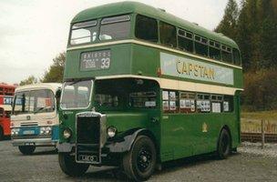 Green Bristol omnibus
