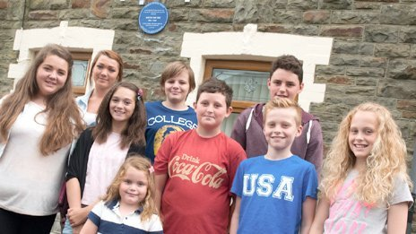 Descendants of David Davies in Maerdy