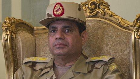 General al-Sisi (May 22, 2013)