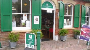 Brading Tourist Information Point