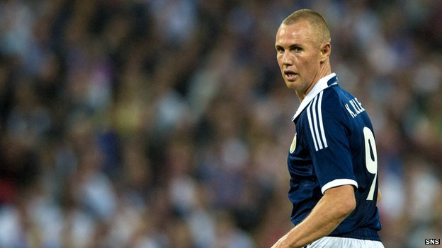 Striker Kenny Miller