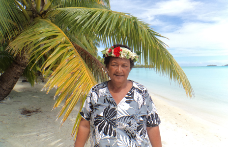 Mamaruru Marsters, stalwart of the community in the Cook Islands