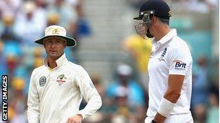 Clarke and Pietersen