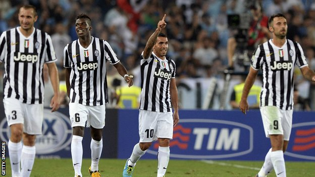 BBC Sport - European preview: Holders Juventus begin Serie A challenge