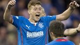 Lewis MacLeod opened the scoring for Rangers