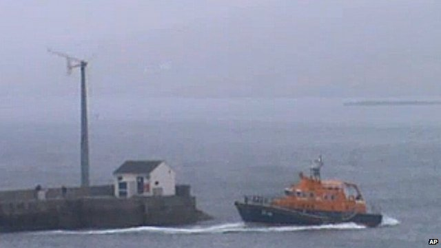 Lifeboat in Shetland