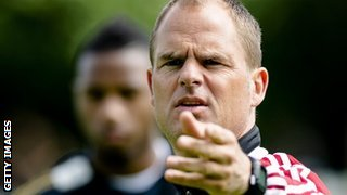 Ajax head coach Frank de Boer