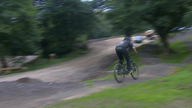 Bikepark Wales trail