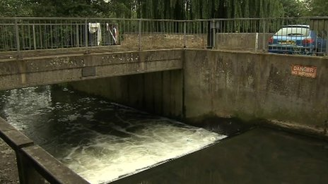 River Ivel in Biggleswade