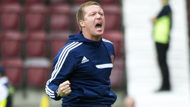 Heart of Midlothian manager Gary Locke