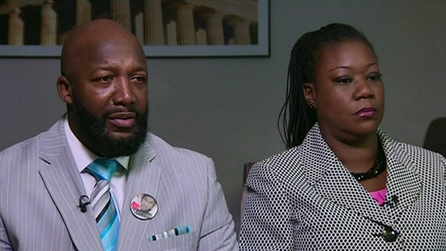 Tracy Martin and Sybrina Fulton