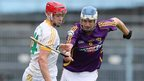 Conor McCann of Antrim in semi-final action against Wexford's Shane O'Gorman