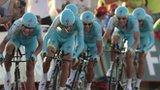 Astana team in action