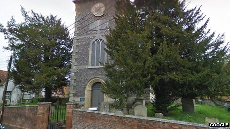 St Peter's Church, in Thames Street in Wallingford