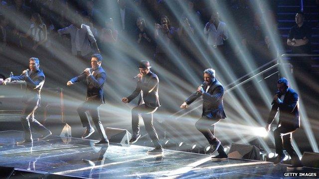 Justin Timberlake and Nsync