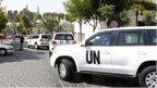 UN team visiting Syria attack site