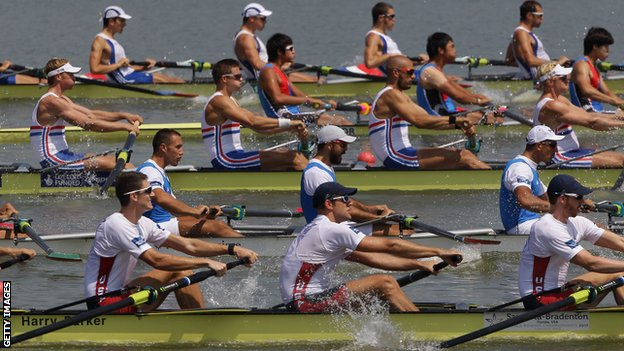 GB men's eight