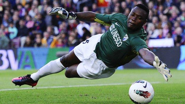 Idriss Carlos Kameni BBC Sport Cameroon recall goalkeeper Idriss Kameni for