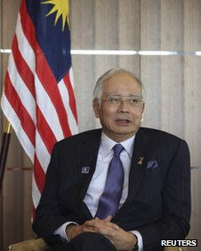 File photo: Najib Razak