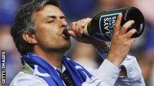 Jose Mourinho during his first spell in charge at Chelsea