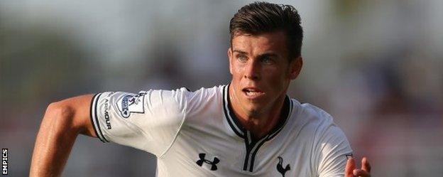 Real Madrid target Gareth Bale