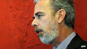 Brazilian Foreign Minister Antonio Patriota (file image)