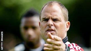 Ajax coach Frank de Boer