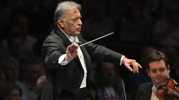 Zubin Mehta is the musical director of the New York and the Israeli Philharmonic Orchestras.