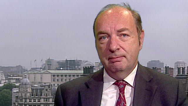 Transport Minister Norman Baker
