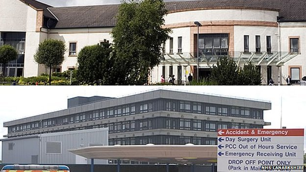 Wishaw General and Monklands Hospitals