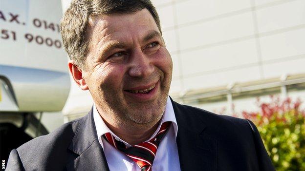 Shakhter Karagandy coach Viktor Kumykov