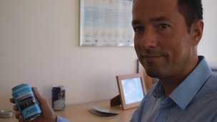 David Banjai, director of Ball Packaging's Serbian operations