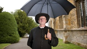 Mark Williams starring as Father Brown
